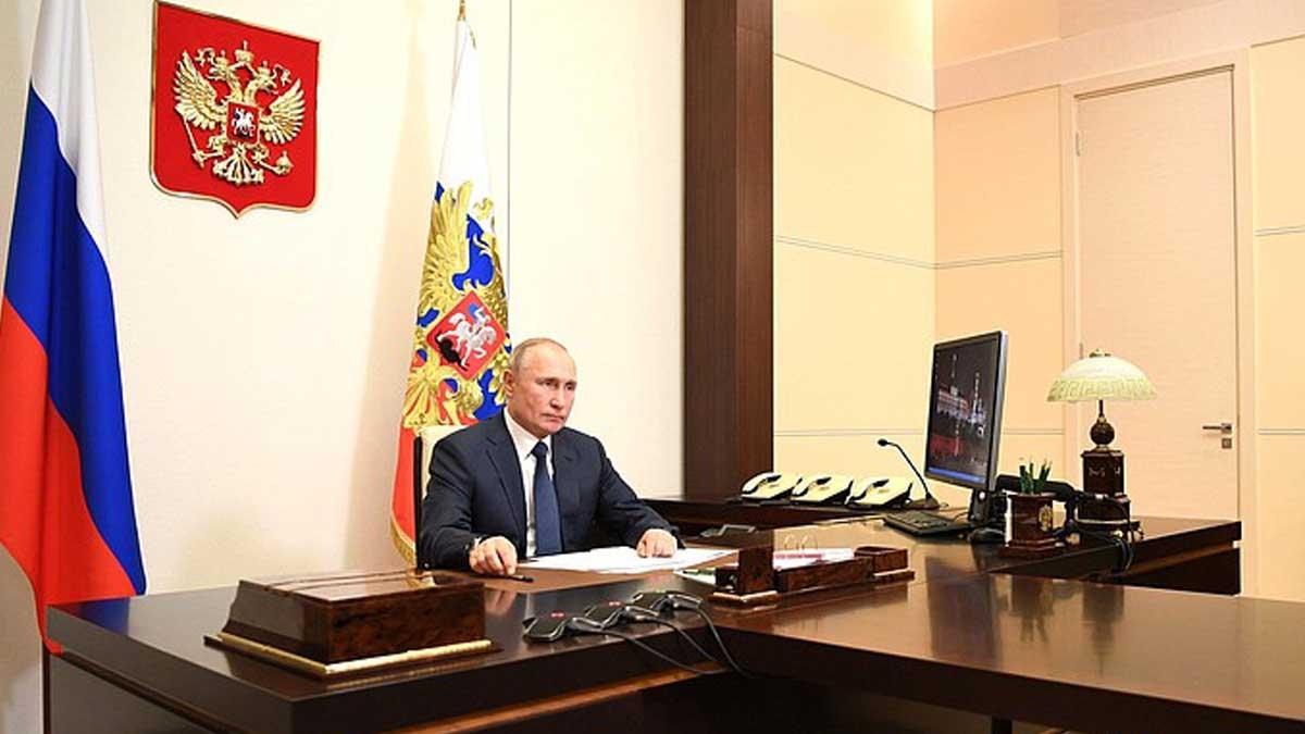 Владимир Путин Нагорный Карабах миротворцы