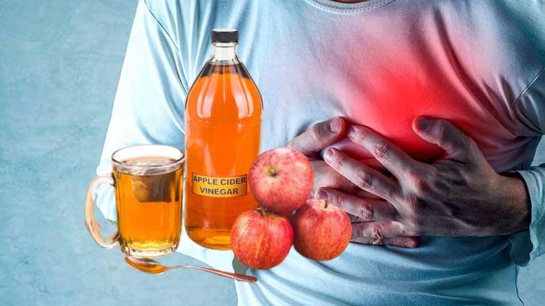 Яблочный уксус болит сердце