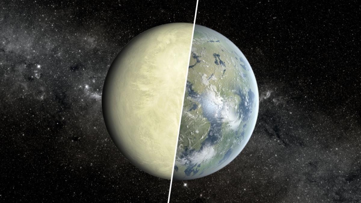 Планета Венера - Земля ранняя токсичная и современная