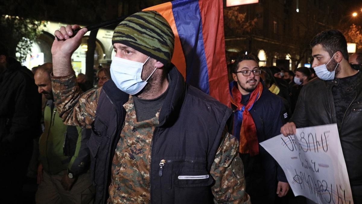 армения протесты против пашиняна