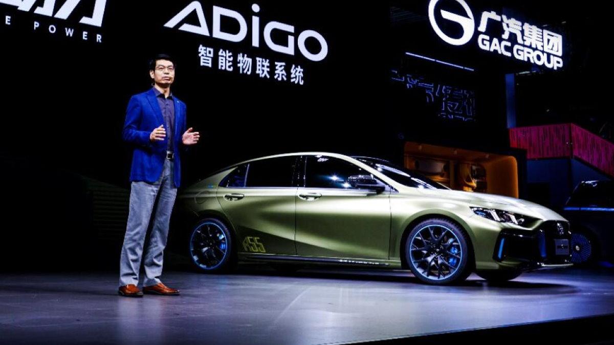 Китайский автопроизводитель GAC A55