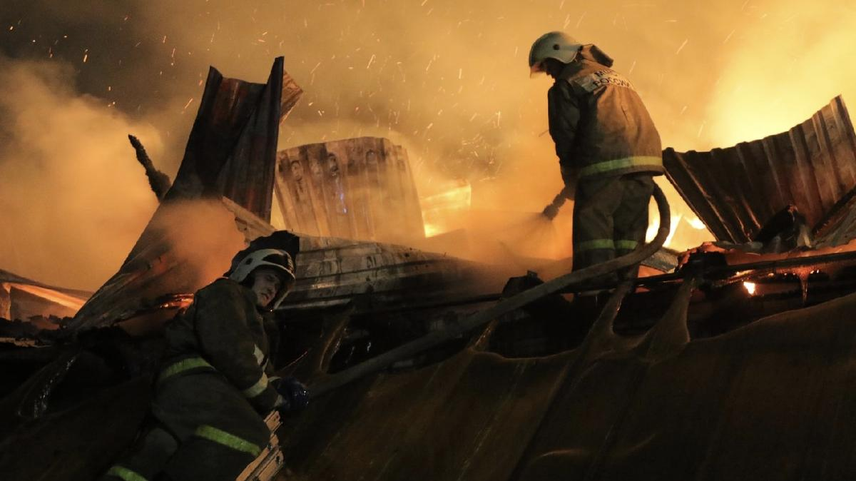 В Красноярском крае на пожаре погибла многодетная семья
