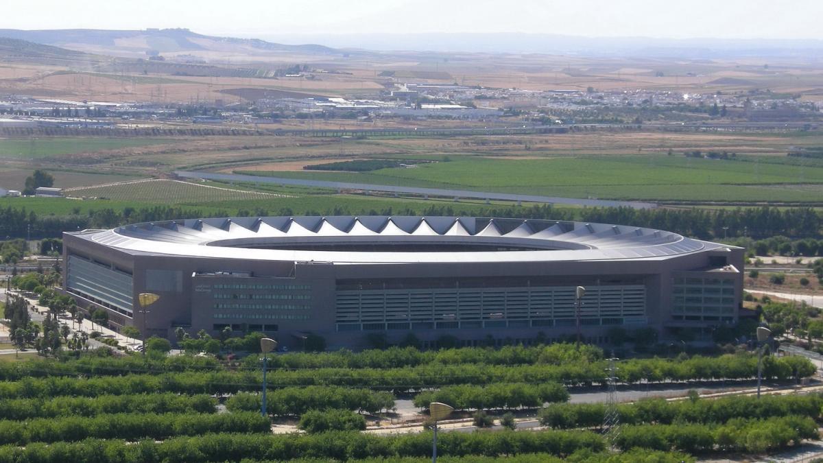 Олимпийский стадион в Севилье