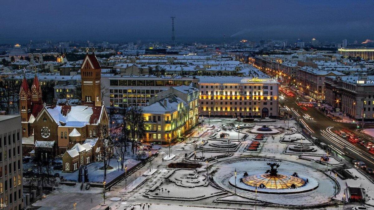 Минск туризм зима