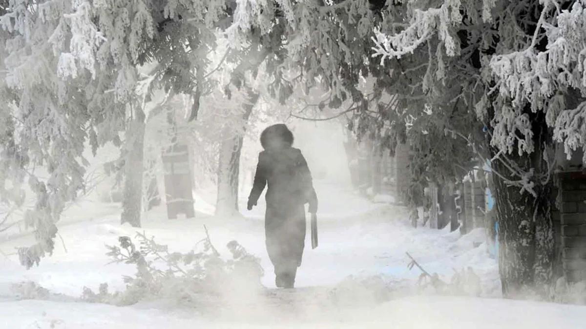 прогнозируются морозы в регионах России