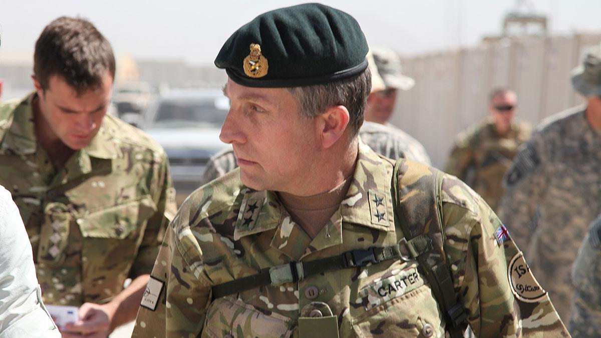 генерал ник картер великобритания