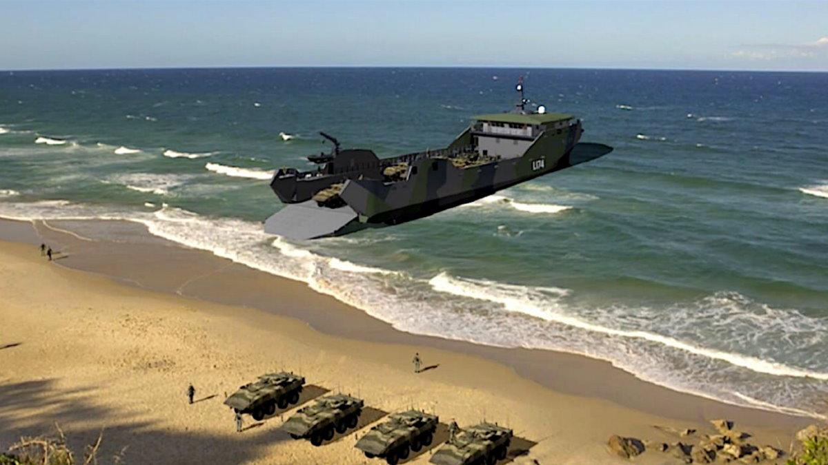 новый десантный корабль США