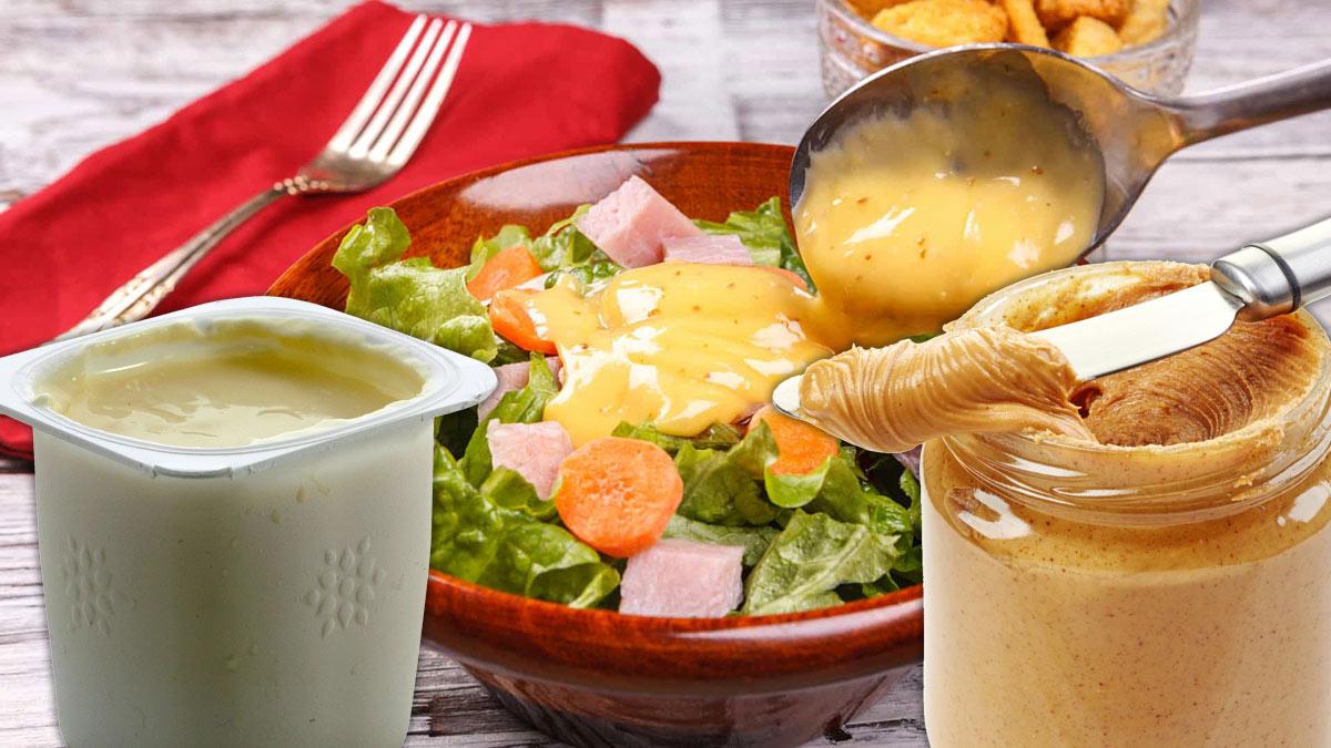салат заправка йогурт арахисовая паста