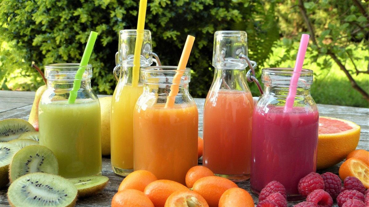 сок ягоды фрукты