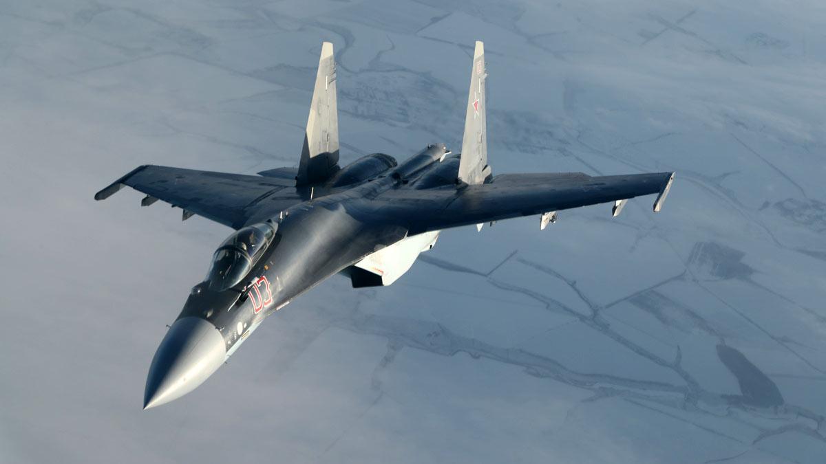 су-35 фланкер истребитель РФ
