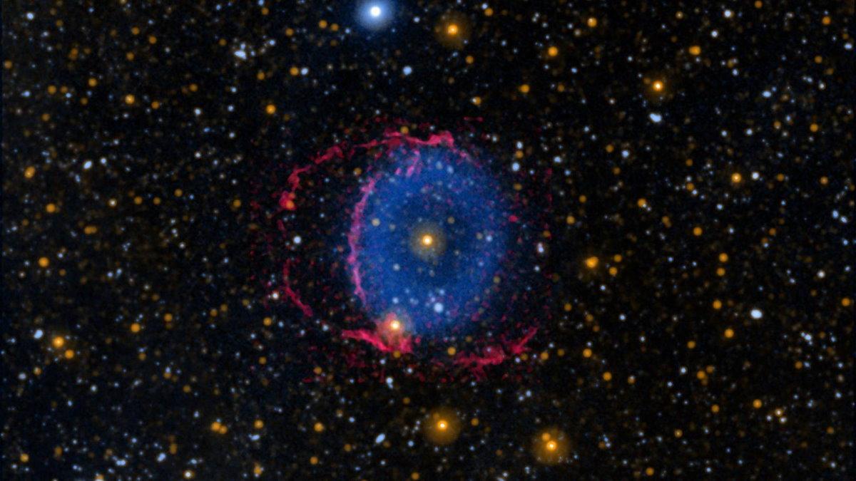 туманность Голубое кольцо