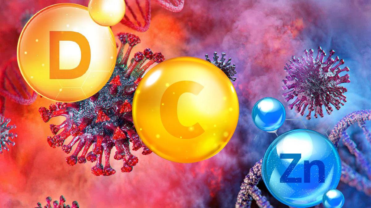 виитамины d c zn цинк коронавирус covid-19