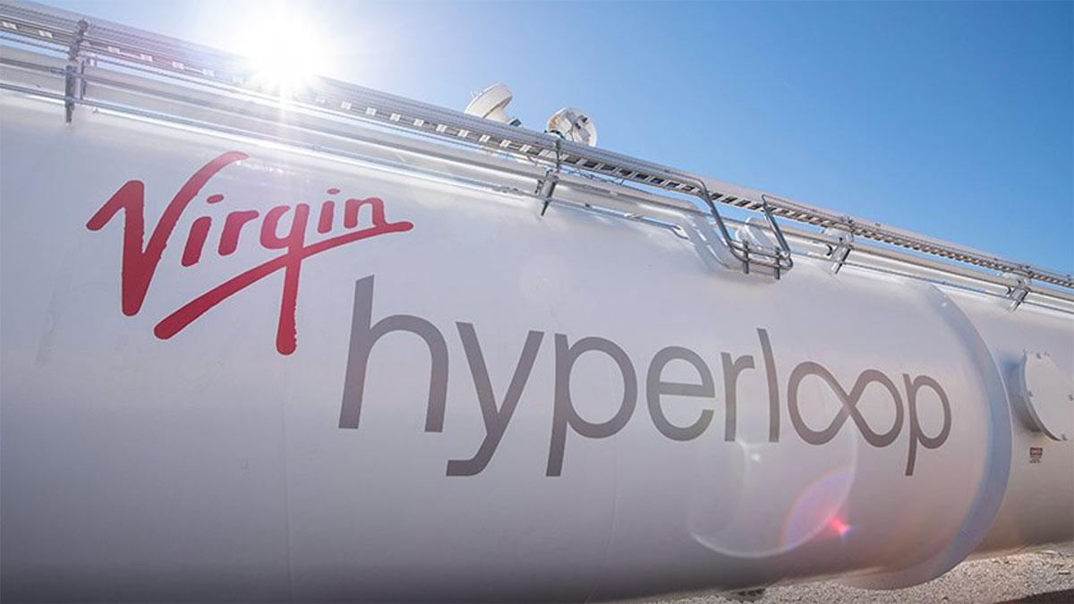 Прошли тестирования  вакуумного поезда Hyperloop, который скорее  самолета
