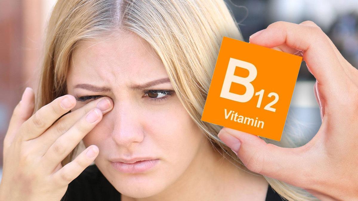витамин b12 б12 проблема с глазами тик