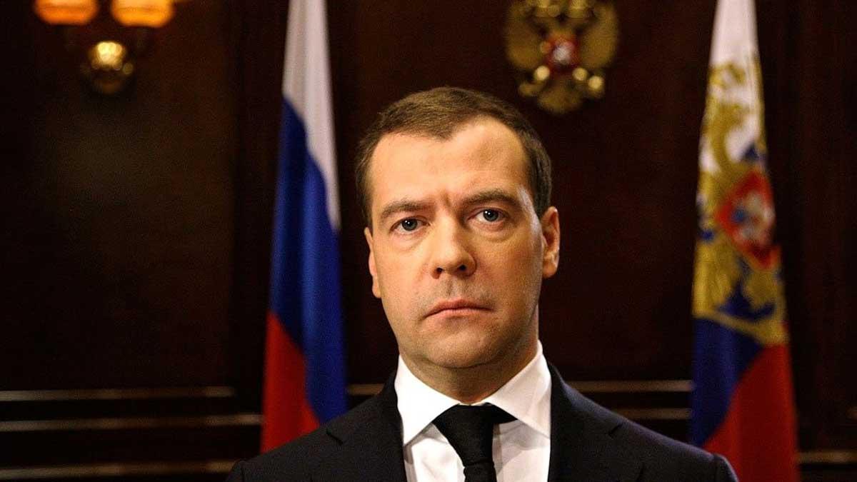 замглавы Совета безопасности РФ Дмитрий Медведев