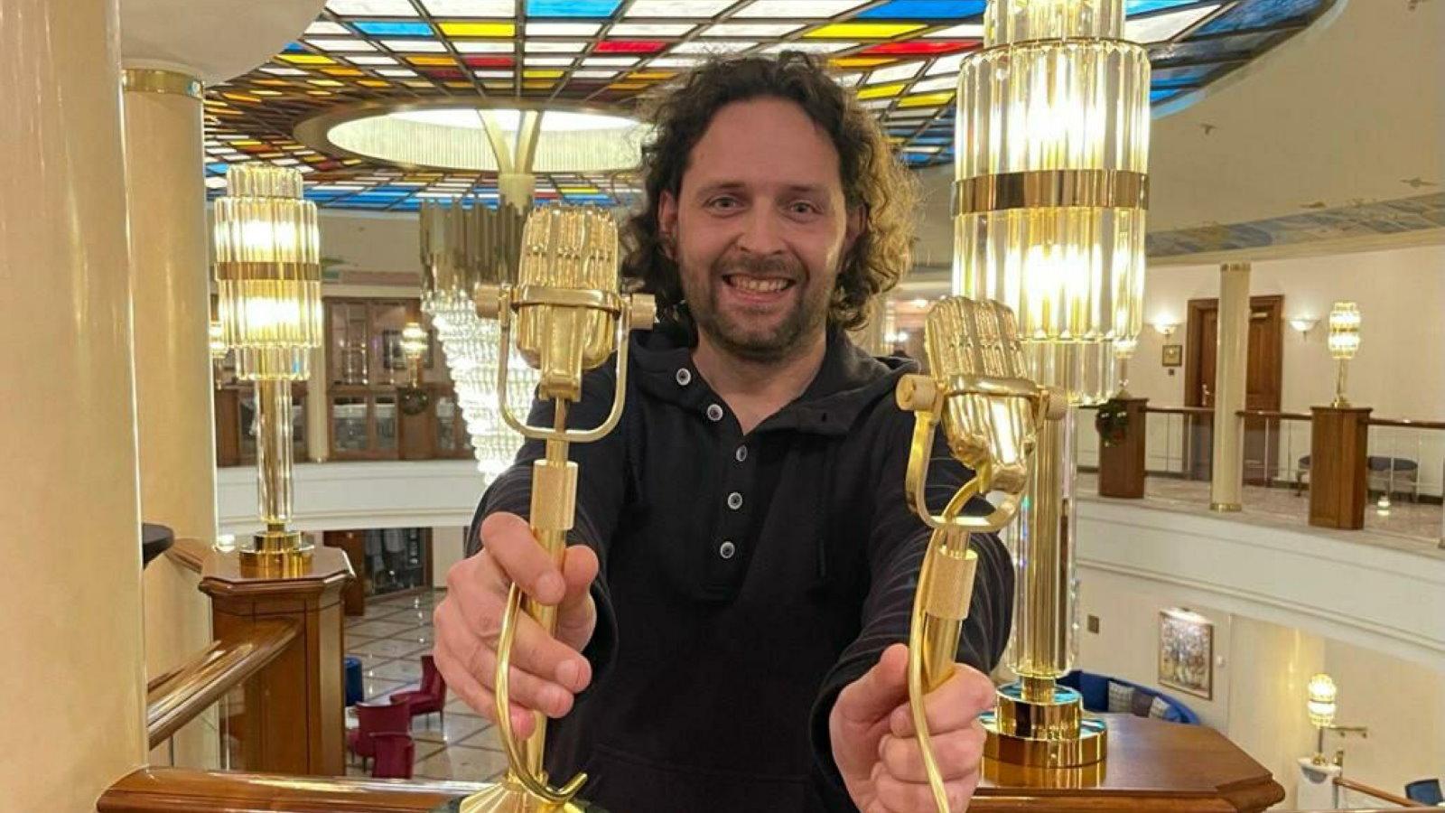 Программный директор Эльдорадио Андрей Дроздов XIX ежегодная Национальная премия в области радиовещания Радиомания 2020