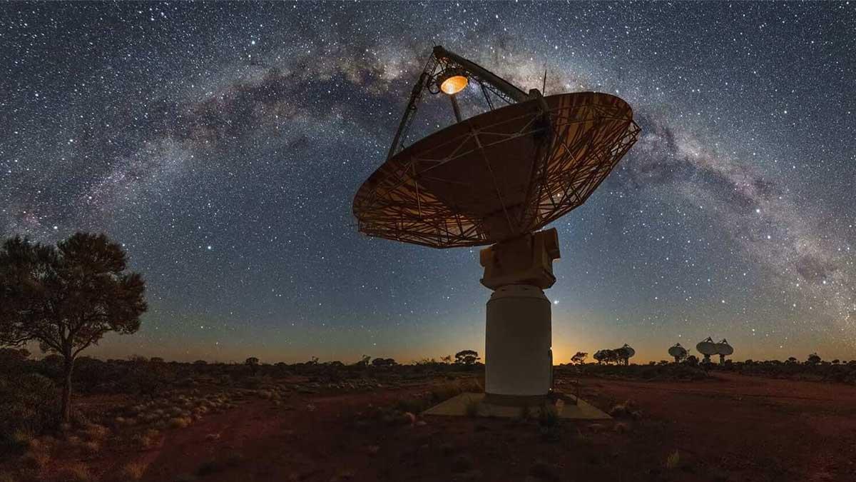 Группа радиотелескопов ASKAP