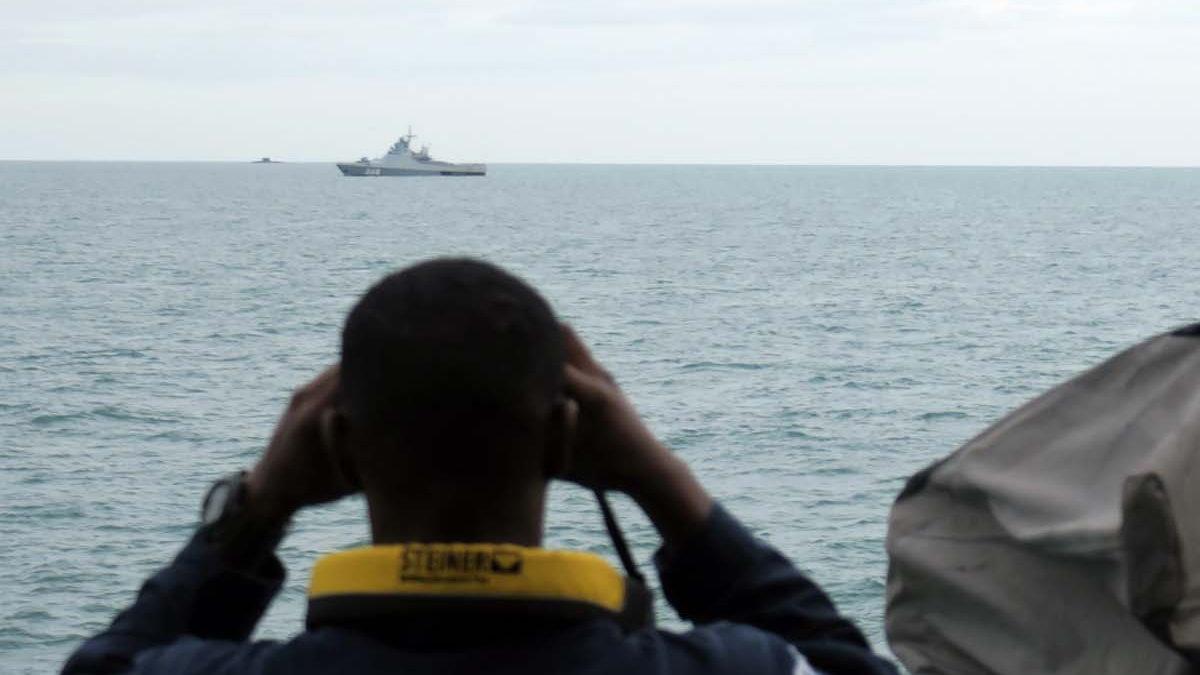 Королевский флот отметил рост активности ВМФ России у британских морских границ