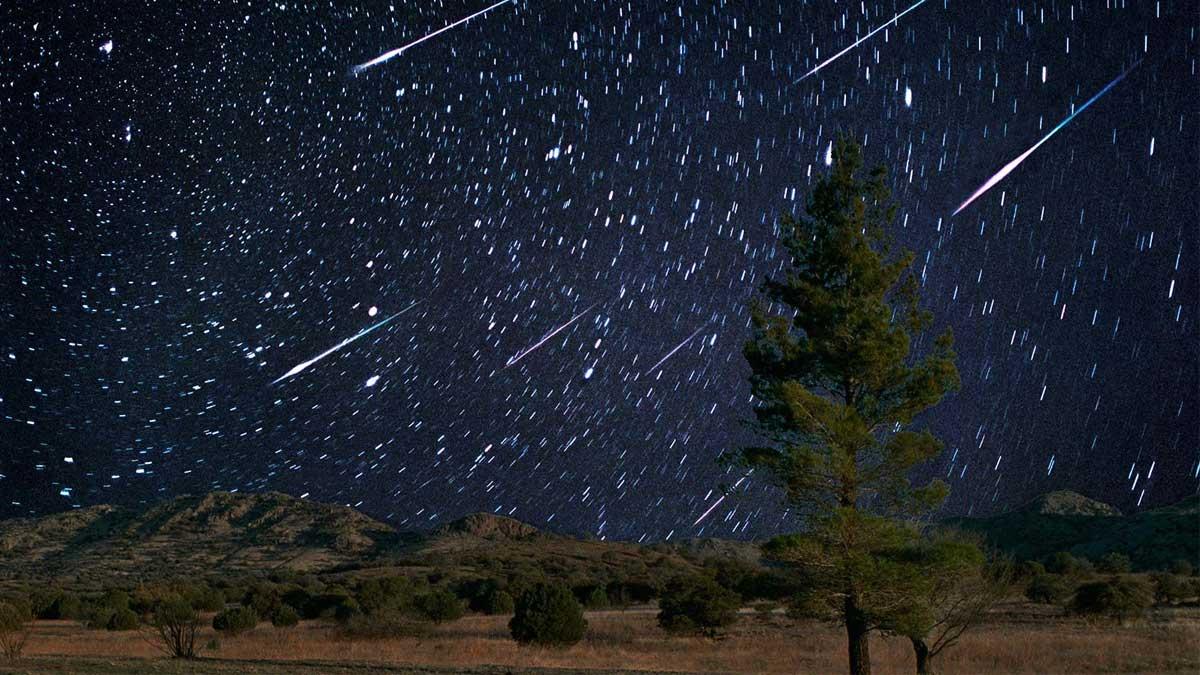 Метеоритный дождь два meteor shower