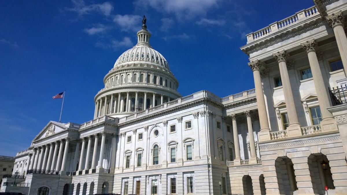 Капитолий сенат конгресс США здание один