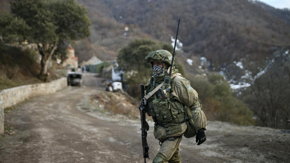 Нагорный Карабах российский миротворец