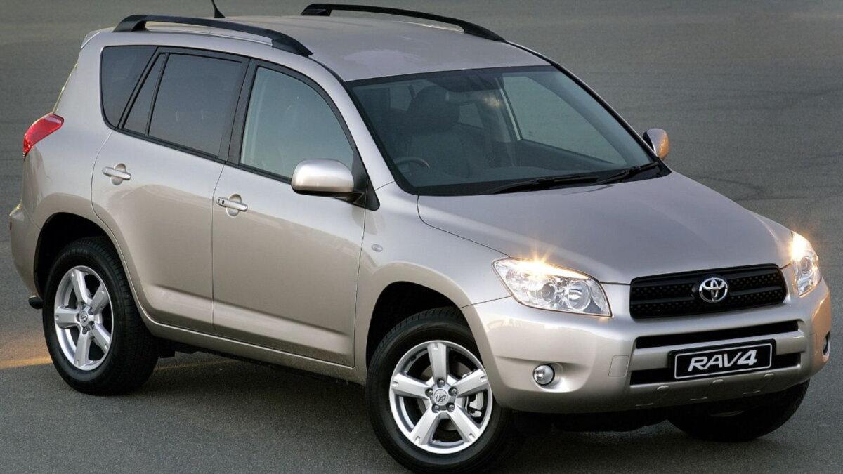 Toyota RAV4 третьего поколения
