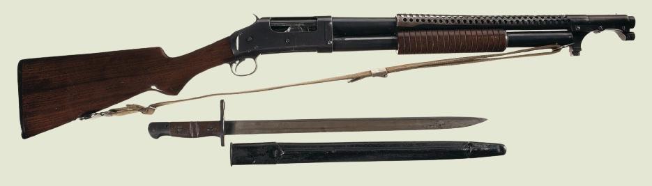 "Помповый дробовик Winchester Model 1897 (M97, Trench Gun"", Окопная метла)"
