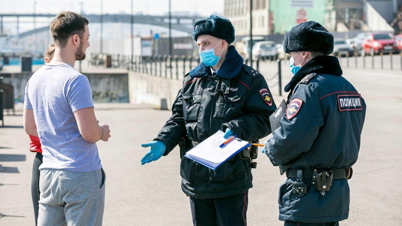 Москвичей начнут штрафовать за нарушение карантинных мер по данным соцсетей