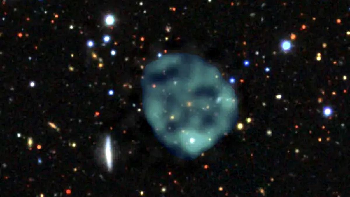 загадочные круги в космосе