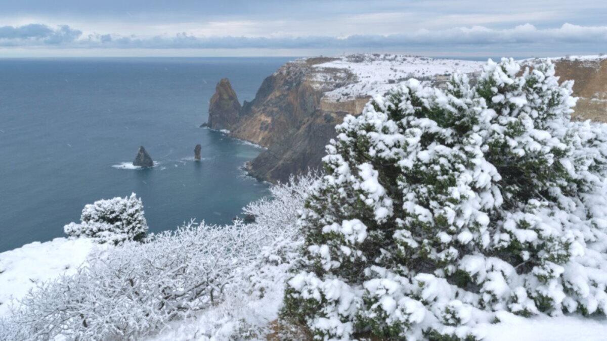 Погода Крым Севастополь зима туризм