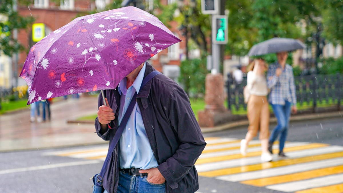 Погода дождь ливень