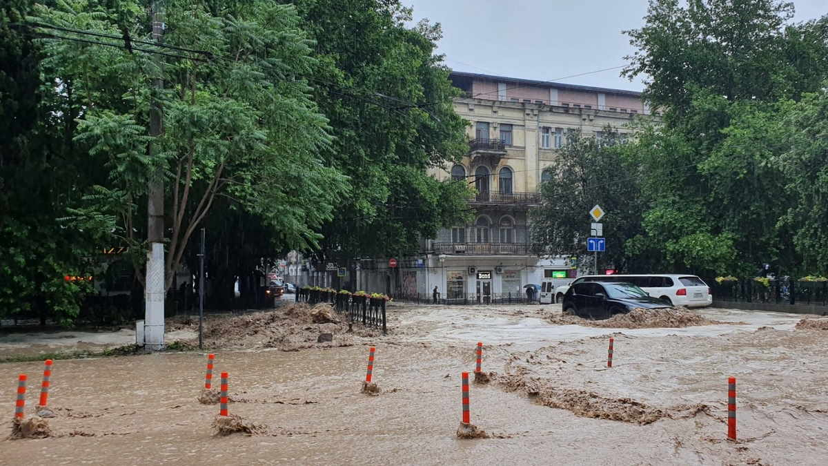 Крым Ялта потоп