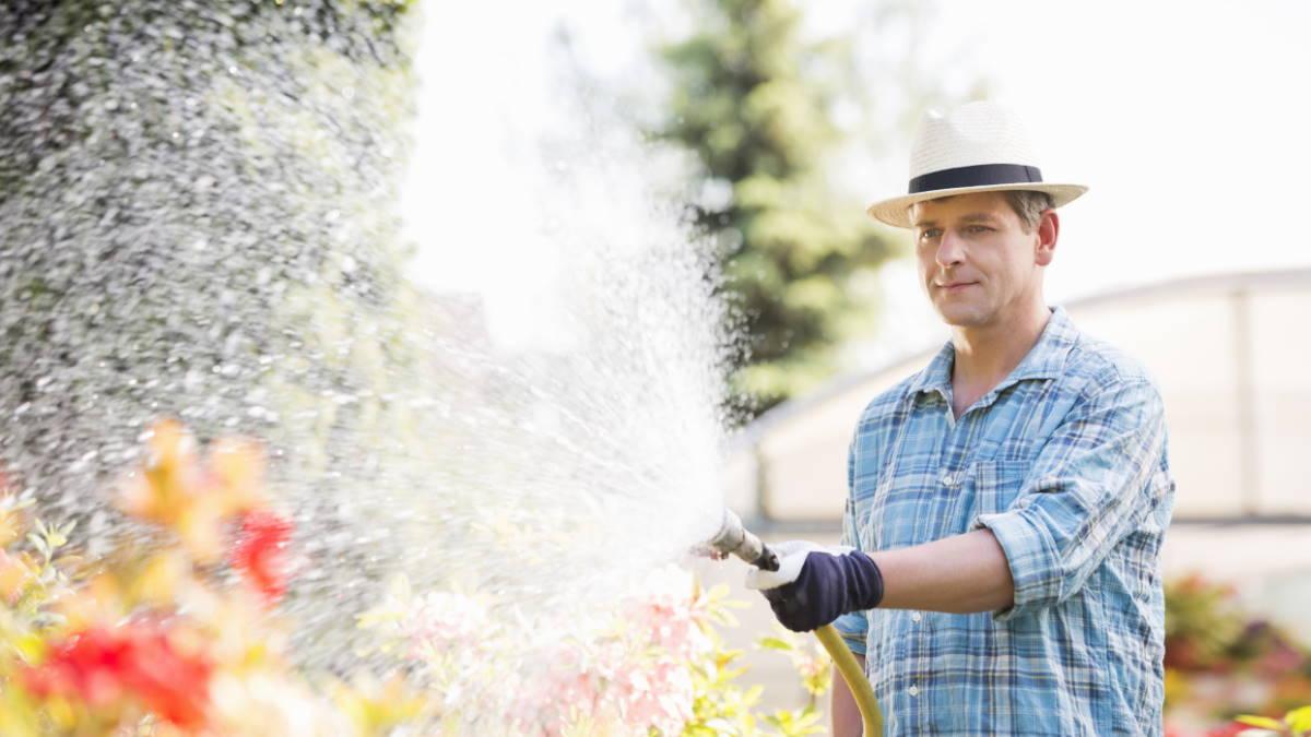 Сад огород дача поливать