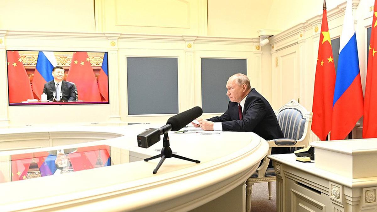 Владимир Путин и Си Цзиньпином