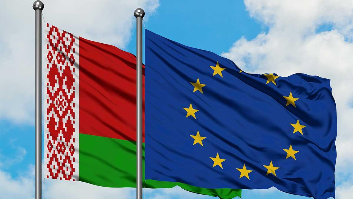 евросоюз флаг Белоруссии