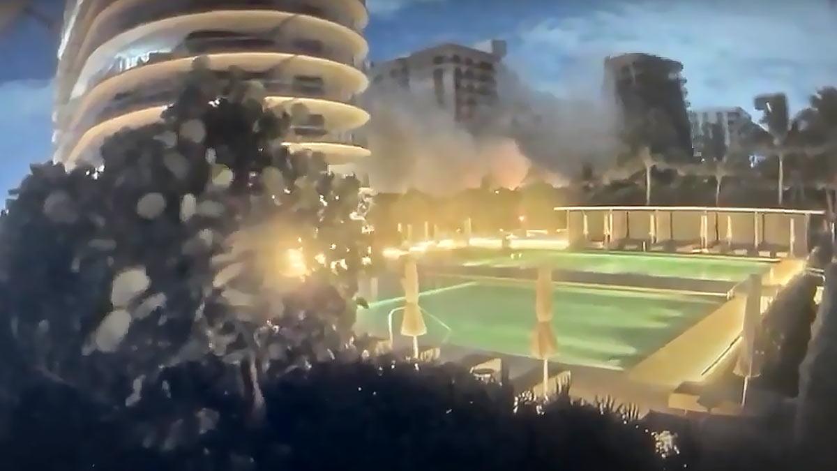 обрушение здания во флориде 24 июня 2021