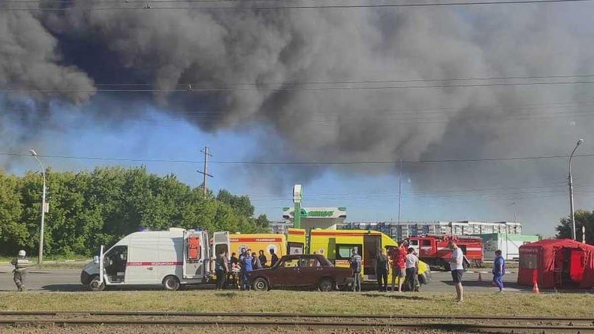 пожар Новосибирск
