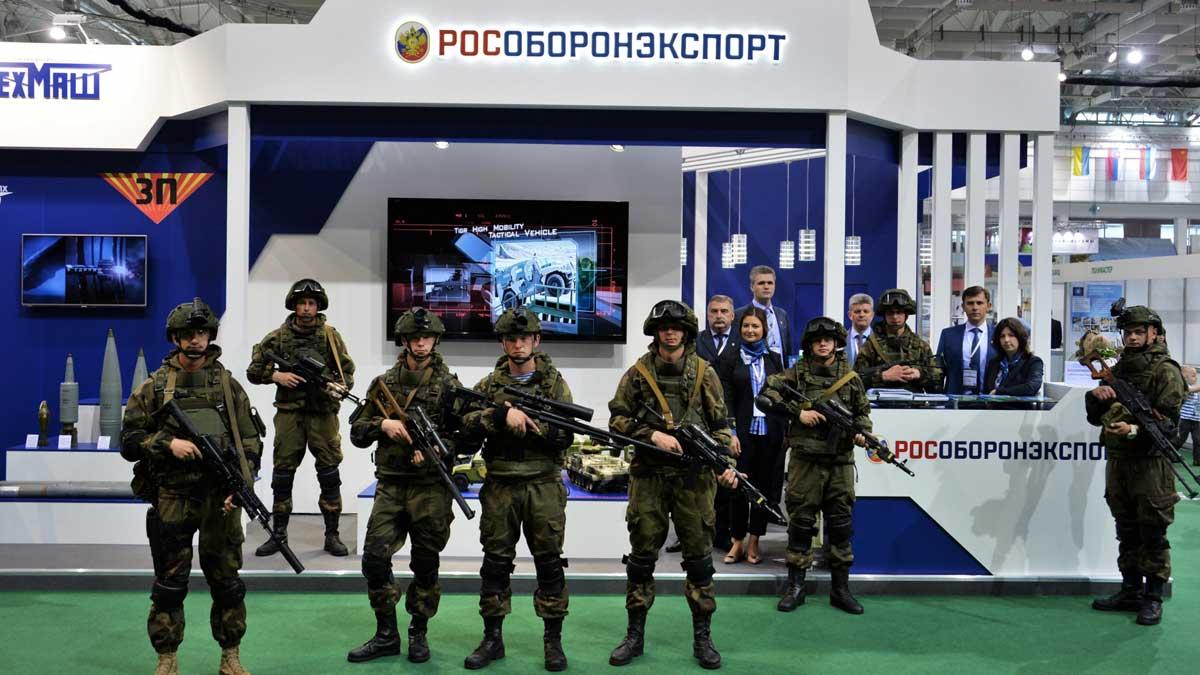 рособоронэкспорт военные выставка