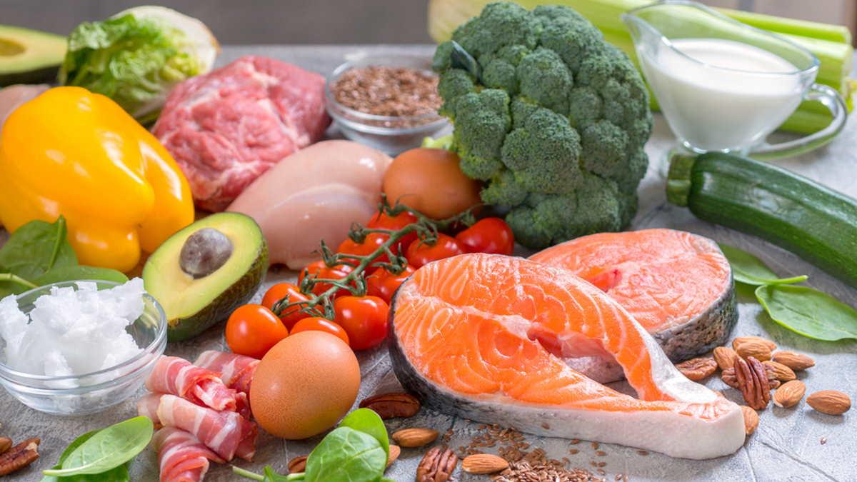 низкоуглеводная диета кето-диета продукты