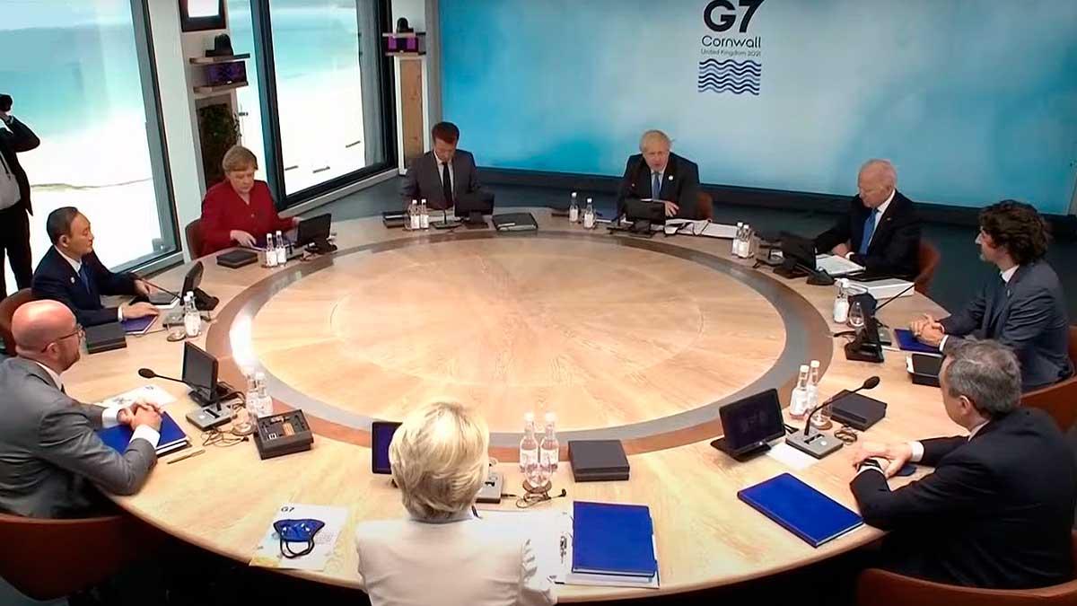 совещание лидеры G7
