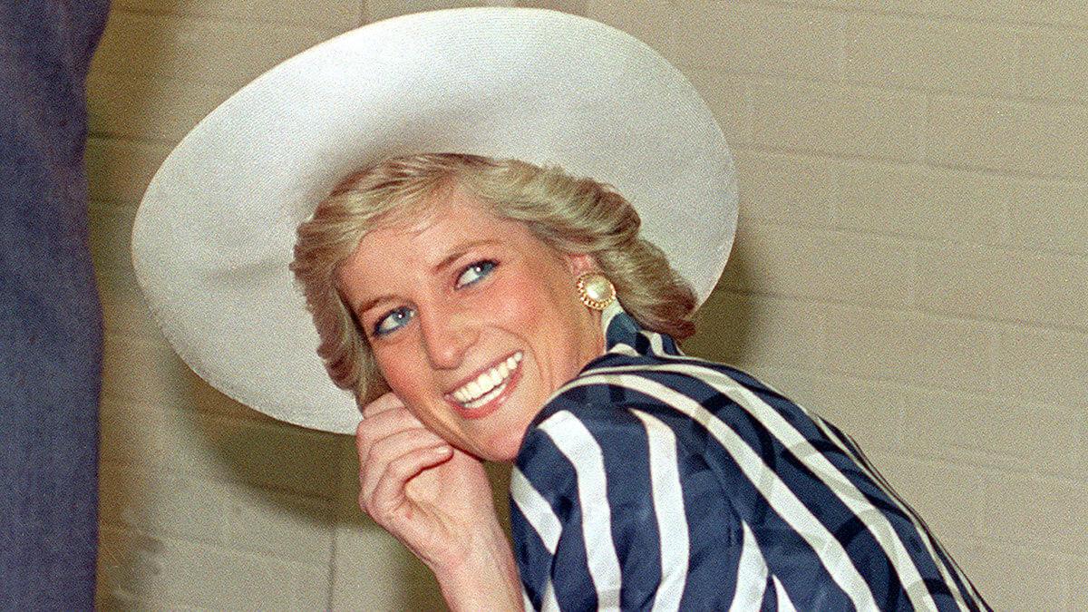 Принцесса Диана во время визита в Мельбурн в 1988 году
