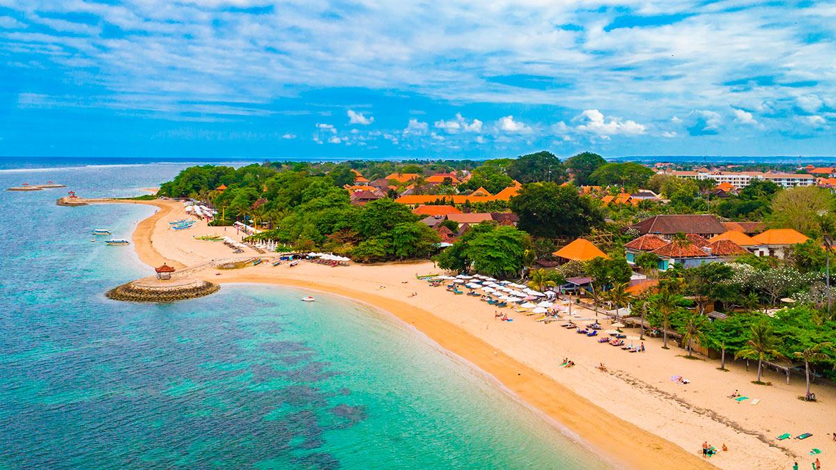 пляж Пантай Санур Бали