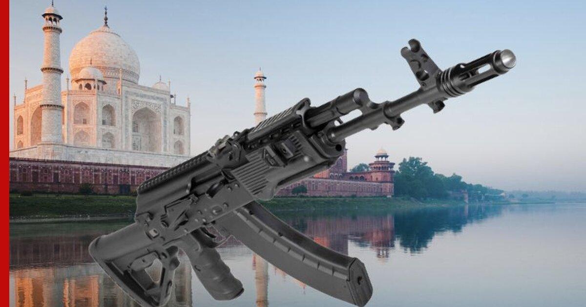 Индия перейдёт на АК-203