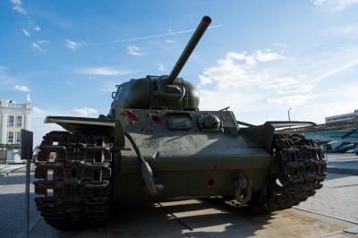 В Музее военной техники УГМК появился скоростной танк КВ-1С