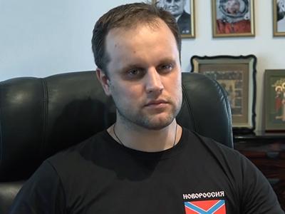 Власти ДНР: Павел Губарев идет на поправку