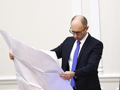 Яценюк просит еще 6 млн евро на проект «Стена»
